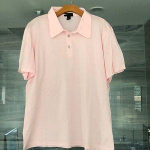 Men's XL Pink H&M Mercerized Cotton Polo
